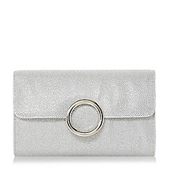 Head Over Heels by Dune - Biya' fold over circle ring clutch bag