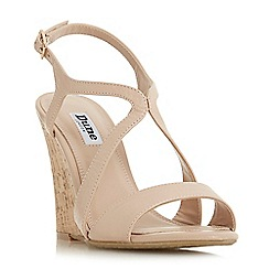 Dune - Natural leather 'Mojoe' sandals