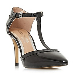 Head Over Heels by Dune - Black 'Carlina' high stiletto heel court shoes