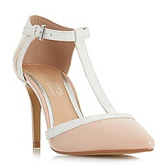 Head Over Heels by Dune - Mid rose 'Carlina' high stiletto heel court shoes