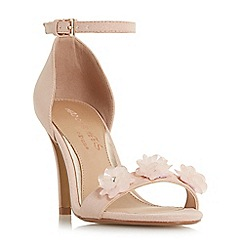 Head Over Heels by Dune - Light pink 'Muse' ankle strap sandals