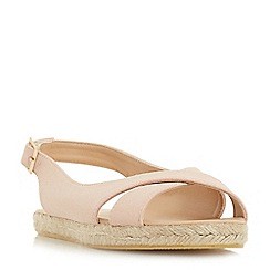 Head Over Heels by Dune - Pink 'Lorell' slingbacks