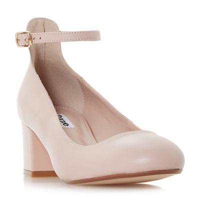 Light Pink Mid Heel Shoes