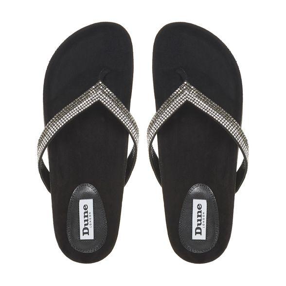 sandals t Dune Black bar 'Noticed' rqqRwnIB