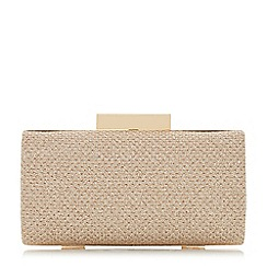 Roland Cartier - Brandee' small rectangle glitter clutch bag