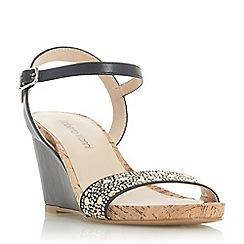 Roberto Vianni - Black 'Krissy' ankle strap sandals