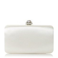 Dune - Ivory 'Biana' diamante clutch