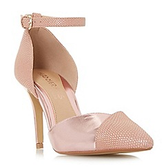 Head Over Heels by Dune - Pink 'Cersey' high stiletto heel court shoes