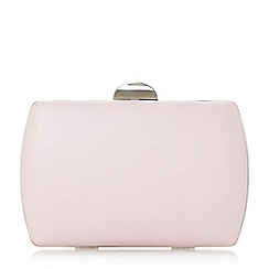 Roland Cartier - Boxy' textured box clutch bag