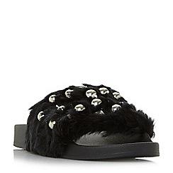 Steve Madden - Black 'Yeah' sandals