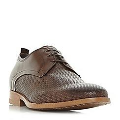 Dune Brown Richmonds Square Toe Derby Shoe