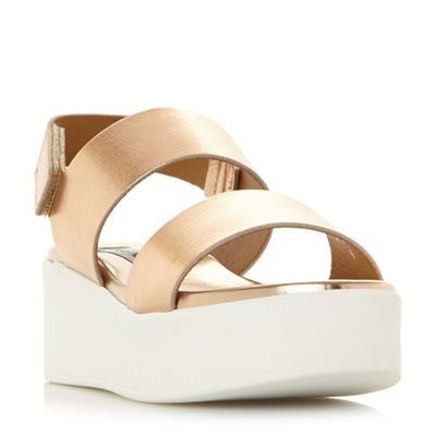 Steve Madden - Rose 'Rachel' mid flatform sandals