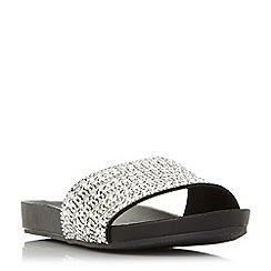 Steve Madden - Black 'Dazzle' sandals
