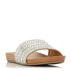 Steve Madden - Natural 'Dazzle' sandals