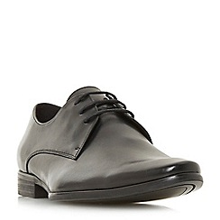 Dune - Black 'Petrov' gibson lace-up shoes