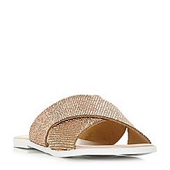 Dune - Light pink 'Nevadaa' sandals