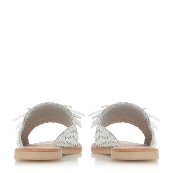 White Dune Dune 'Lyda' White mules leather leather v6w5qxwdn