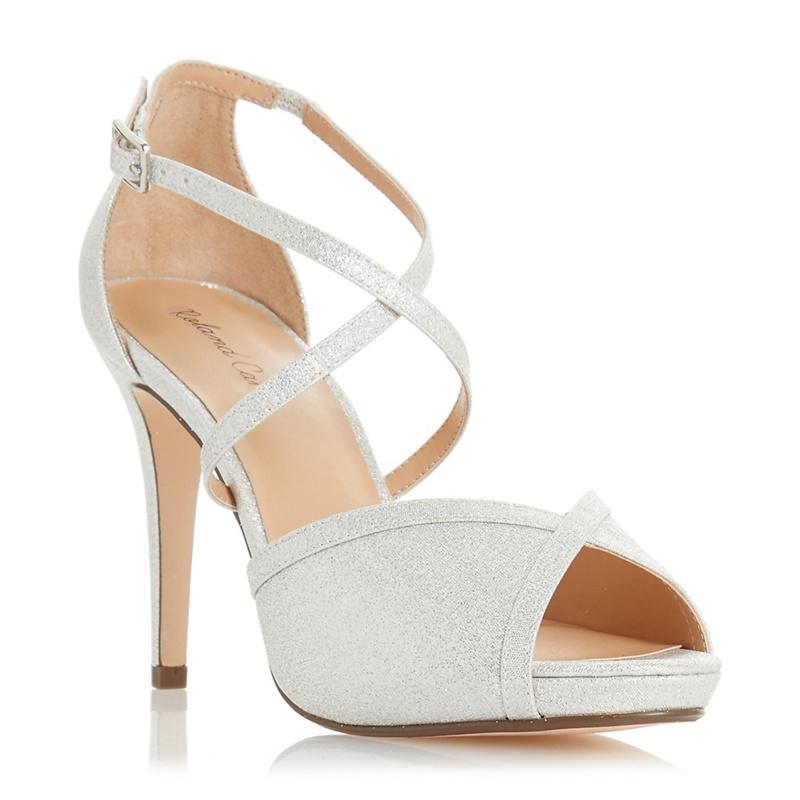 Roland Cartier Ladies Silver Shoes