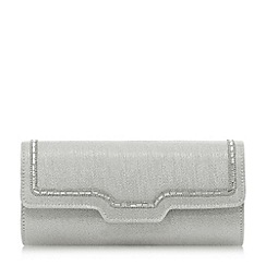 Roland Cartier - 'Boppy' diamante trim fold-over clutch bag