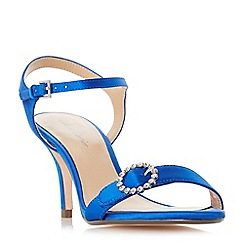 Roland Cartier - Blue 'Mella' high stiletto heel ankle strap sandals