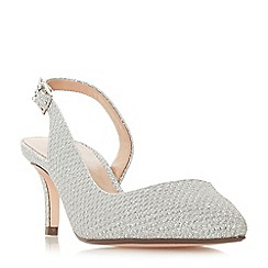 Roland Cartier - Silver 'Doriana' mid court shoes