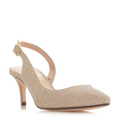 Roland Cartier - Gold 'Doriana' mid court shoes