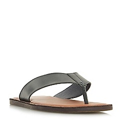 Dune - Navy 'Ivan' toepost sandals
