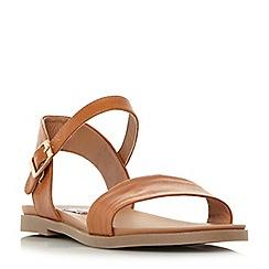 Steve Madden - Tan 'Dina' ankle strap sandals