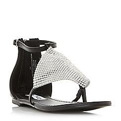 Steve Madden - Black 'Cord' sandals