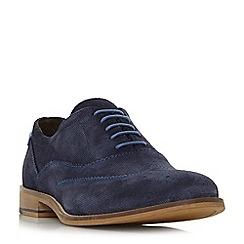 Dune - Blue 'Bartra' oxford brogue shoes