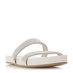 Roberto Vianni - Silver 'Luscia' ankle strap sandals