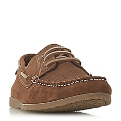 Bertie - Tan 'Battalion' classic boat shoes