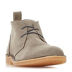 Dune - Grey 'Chorizo' suede desert boots