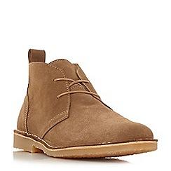 Dune - Tan 'Chorizo' suede desert boots