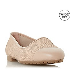 cheap clearance store clearance for sale Rose leather 'Wf lowwpez' wide fit sandals 3Z0srEQJ