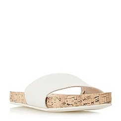 Roberto Vianni - White leather 'Lentil' sandals