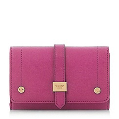 Dune - Pink 'Kophie' small fold over purse