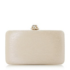 Dune - Gold 'Biana' diamante clutch bag