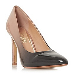 Head Over Heels by Dune - Black 'Alexxa' high stiletto heel court shoes