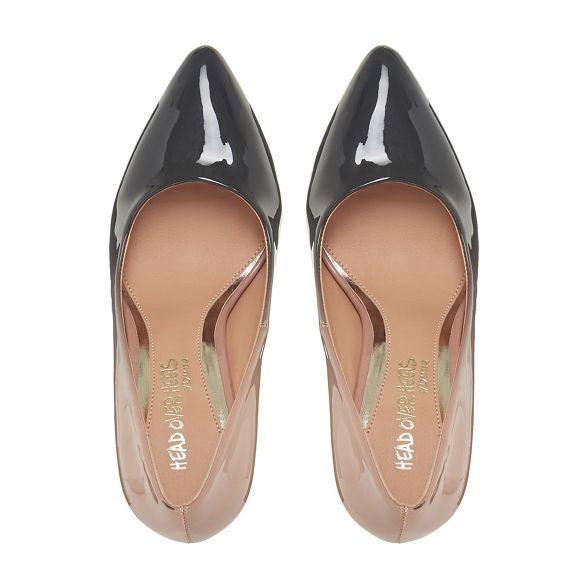 high court Dune Black Heels shoes Over stiletto 'Alexxa' by Head heel twCqc7UYYx