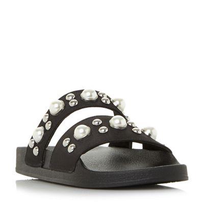 c0d7bd191ea Steve Madden Black  Polite  sandals