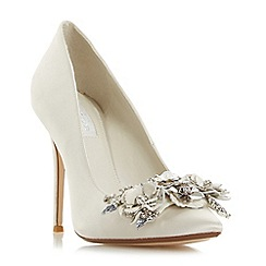 Dune - Ivory 'Brydee' high stiletto heel court shoes