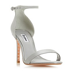 46e20f18a8b4de Dune - Light grey  Maides  high stiletto heel ankle strap sandals