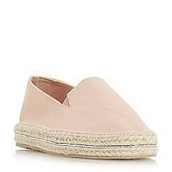 Head Over Heels by Dune - Natural 'Gekko' espadrilles