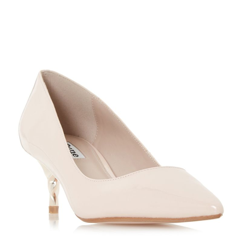 Dune - Light Pink Aspire Court Shoes