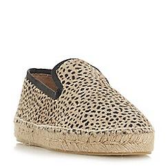 Dune Black - Multicoloured leather 'Leiria' loafers