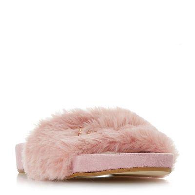 Dune - Blush 'Loveydovey' mule slippers