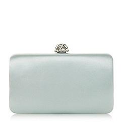 Dune - Light green 'Biana' diamante clutch