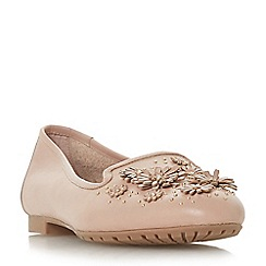 Dune - Light pink leather 'Gabrielaa' loafers
