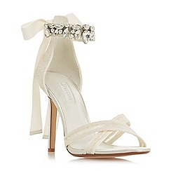Dune - Ivory 'Memories' high stiletto heel court shoes